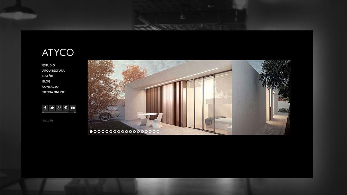 Atyco estudio de arquitectura aplicaciones m viles for Arquitectura pagina web